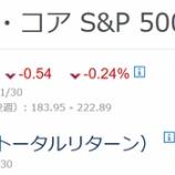 『【悲報】バフェット太郎は市場平均に完敗しました』の画像