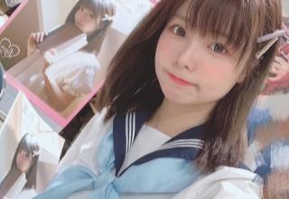 水色制服を着た中国人コスプレイヤー・リーユウちゃんが超可愛い!