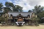 スタンバイはOK!私市のだんじりは出発間近みたい〜10月13日(日)天田神社でだんじり曳行〜