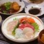【釣果飯】お刺身いろいろ。~日本一高級なイカを食す・・・!~