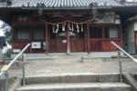 私市の若宮神社。手すりができたみたい!〜本殿に続く階段6段が上りやすくなってる!〜
