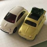 『ルパン三世といえば、このクルマ トミカ「FIAT 500」』の画像