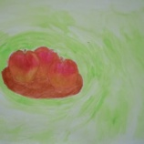 『リンゴ?』の画像
