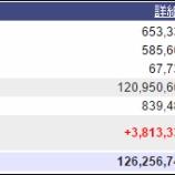 『週末(6月24日)の保有資産。1億2625万。』の画像