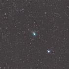 『徐々に光度を増してきたジョンソン彗星(C/2015 V2)』の画像