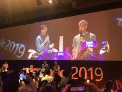 本田圭佑さん、マイクロソフトのイベントに現る!