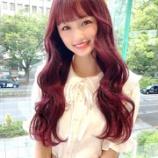『[イコラブ] 音嶋莉沙「ちょっと前に美容室へ(髪の毛サラサラに…カラーはラズベリーピンク)」』の画像