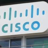 『[CSCO]シスコ買う買う詐欺。あがーん!!』の画像