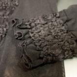 『刺繍カーディガン製作を進めています。』の画像
