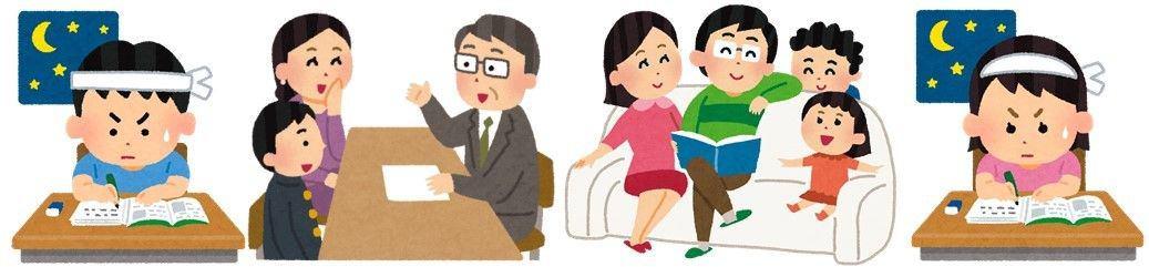 予備校講師がこっそり教える子どもを伸ばす親 残念な親 イメージ画像