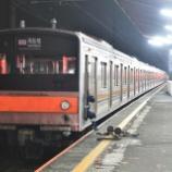 『【速報版】復刻!!205系山手線ヤテ5編成、デポック電車区へ到着(11月17日)』の画像