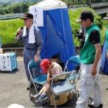 『西日本豪雨より一年!被災地での訓練に参加‼︎』の画像