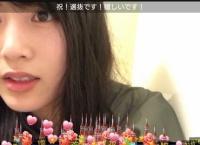 岡部麟、初の選抜入りに小嶋陽菜から「応援してるよ」とコメントを貰う