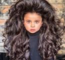 髪の毛がモリモリフサフサの5歳児、インスタフォロワー5万人