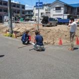 『猛暑の中、甲子園八番町側溝工事順調です!!』の画像