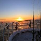 『1月10日更新 9日 釣果 スーパーライトジギング 根魚狙い 海上は珍しい気嵐が発生⛄』の画像
