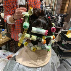 表参道 神宮前 東京 都内で美髪パーマが得意な美容室MINX原宿☆須永健次☆大人めナチュラルウェーブをかけました。