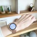 初めてのスマートウォッチは見た目も大事に。血圧も心拍数も測れる多機能スマートウォッチ