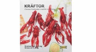 IKEA、食用ザリガニの販売開始