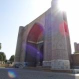 『ウズベキスタン旅行記44 かつてのイスラム世界の最大モスクは絶賛修復中「ビビハニム・モスク(Bibi-Khanym Mosque)」』の画像