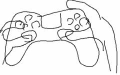 【原神】PS4コンはこのように持つよな  キャラ切り替えしやすいし