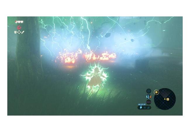 【ゼルダの伝説 ブレスオブザワイルド】雷に当たる条件と応用技