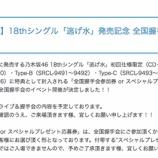 『【乃木坂46】1月に開催!?『18th『逃げ水』全国握手会』各会場の詳細が公開!!!』の画像