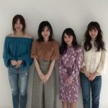 『【乃木坂46】3期生『CanCam』モデル進出!コメント動画が到着!!!!』の画像