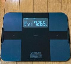 オムロンの体重体組成計と健康管理アプリで健康生活♪