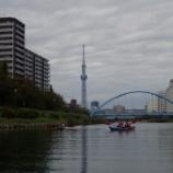 『スカイツリーカヌー&SUPツアー 〜10/19・20〜』の画像