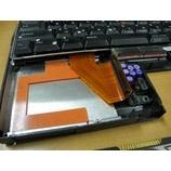 『IBM ThinkPad560X HDD交換修理』の画像