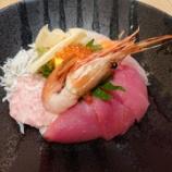 『特上の海鮮丼&牡蠣フライ~【魚盛】阪急西宮ガーデンズ店』の画像