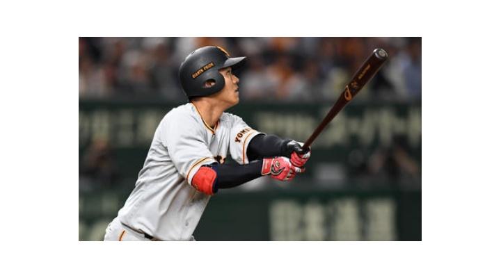 巨人・田中俊太  .236(55-13) 3本 8打点 11三振 8四球 出塁率.328
