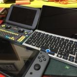 『GPD Pocketが届きました。バッテリーテストやキーボードカスタム設定など』の画像