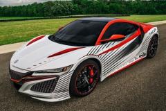 新型NSXがパイクスピークのペースカーに。カラーリング公開!