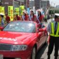 2010年 第60回湘南ひらつか 七夕まつり 織り姫と音楽隊パレード