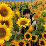 『[イコラブ] 山本杏奈「ひまわり畑🌻🌻🌻🌻🌻」【=LOVE(イコールラブ)】』の画像