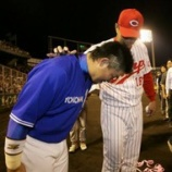 『佐々岡真司「引退試合やし全力で行くで」』の画像