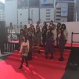 『【乃木坂46】新宿アルタ前『ANNA SUIファッションショー』に乃木坂46がスペシャルゲストで登場!!!』の画像