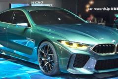 BMW新型「8シリーズ」の4ドアクーペ版をご覧ください