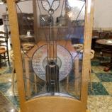 『【松創・期間限定セール】バーズアイメープルミガキ仕様の衝立・デコステンドグラス1』の画像