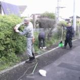 『桔梗駅草刈しました』の画像