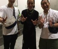 【欅坂46】はんにゃ金田、TAKAHIRO、澤部の幕張スリーショットが!