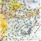 南シナ海の熱帯低気圧は予告通り昇格して台風15号になって上陸。マリアナ諸島の熱帯低気圧も昇格して台風16号に。