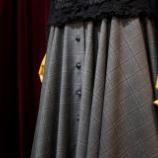 『前開きサーキュラースカートが完成。』の画像