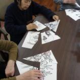 『今日の桜町(型をそろえて)』の画像