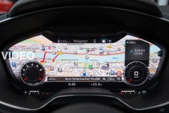 【動画】次期 アウディ TTのインパネ「Virtual Cockpit」が超COOL!