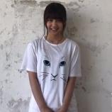 『にゃんこのTシャツを着た麗乃ちゃんの動画が到着!! 可愛い【乃木坂46】』の画像