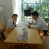 『【久留米】トヨタカローラ福岡東櫛原店様に見学』の画像