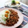 簡単キーマカレー 卵も野菜もお肉も摂れる!簡単レシピ③